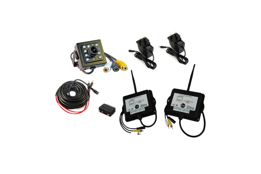 Wireless Nest Box Camera Kit - Hi Res
