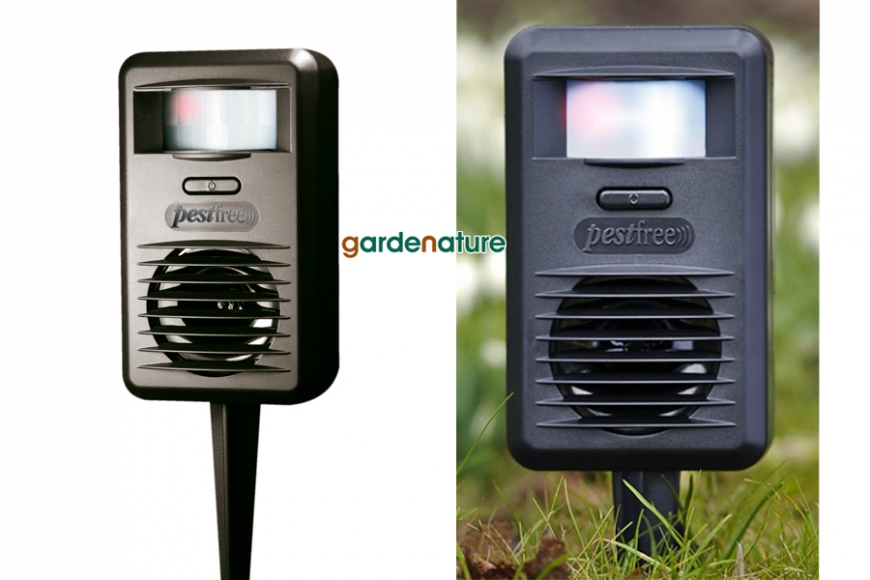 Ultrasonic pest deterrent | gardenature.co.uk