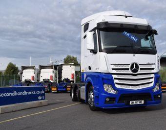 Mercedes-Benz 2545 Actros Big Space 2016 Now In Stock From £30,000 + VAT