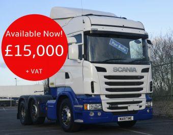 Scania R450 Highline 450bhp 2014 (64)