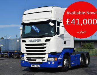 Scania R450 Topline 450 bhp 2015 (65)