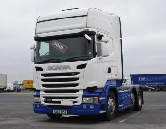Scania R450 Topline New SCR+ECO Roll Opti Euro 6