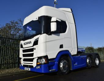 Scania R450 NGT 450 bhp 2018 (18) Available Now From £55,000 + VAT