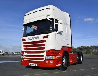 Scania R450 Topline 2015 SCR + ECO Roll Opti-Cruise