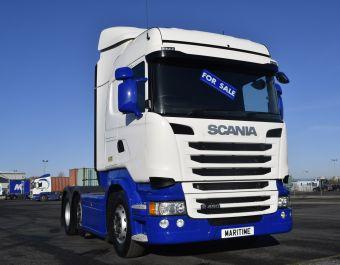 Scania R450 Highline 450bhp Euro 6 2014 (64)