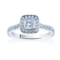 Gatsby                                                     - Cushion Cut
