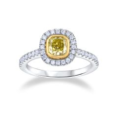 Aura                                                     - Cushion Cut
