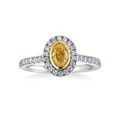 Aura Yellow Diamond Ring