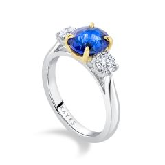 'Ceylon' Sapphire Ring