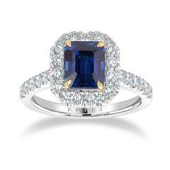 Ritz Sapphire Ring