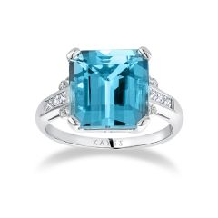 Heritage Aquamarine Ring