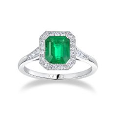 Heritage Emerald Ring