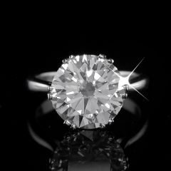5.10 carat Solitaire Ring