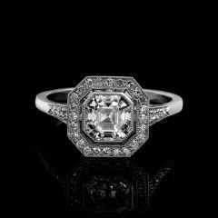 Vintage Asscher Diamond