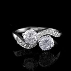 Vintage Duet Ring