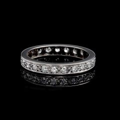 Vintage Eternity Ring