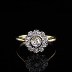 Edwardian Cluster Ring
