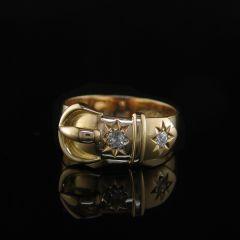Vintage Buckle Ring