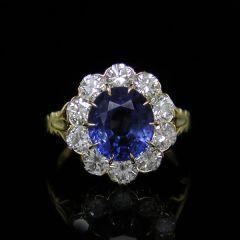 Edwardian Style Sapphire Ring