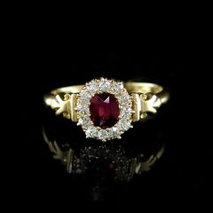 Edwardian Ruby Ring