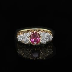 George V Ruby Ring