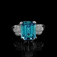 Vintage Zircon Ring