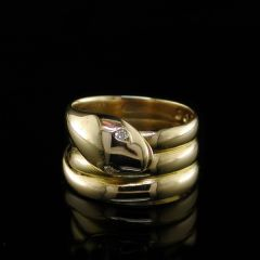 Antique Serpent Ring