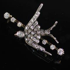 Antique Diamond Brooch