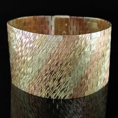 1970s Gold Bracelet