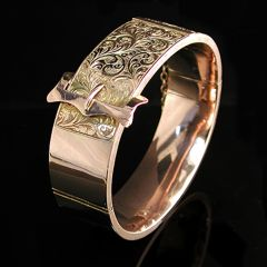 Edwardian Gold Bangle