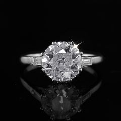 2.14ct Vintage Diamond Ring