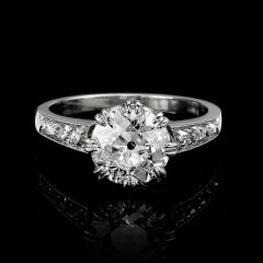 Art Deco Era Diamond Ring