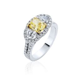 Natural Yellow Diamond.