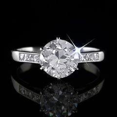 1.41ct Vintage Diamond