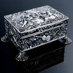 Chester Silver Casket