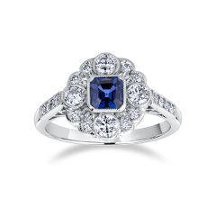 Heritage Sapphire Ring