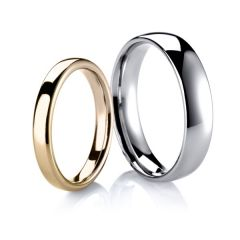 Fine Court Wedding Ring