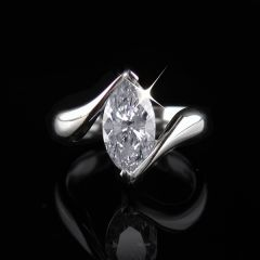 Large Marquise Diamond Ring