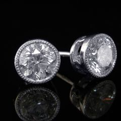 1.42ct Diamond Earstuds