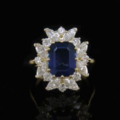 Reduced! - Vintage Sapphire
