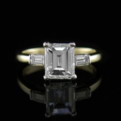 Pre-owned Emerald Cut diamond