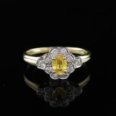 Vintage Yellow Sapphire