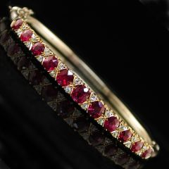 Antique Ruby Bangle