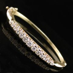 Vintage Diamond Bangle