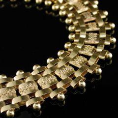 Victorian Gold Collarette
