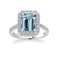Ritz Aquamarine Ring