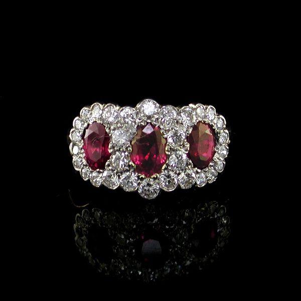 Edwardian Style Ruby Ring