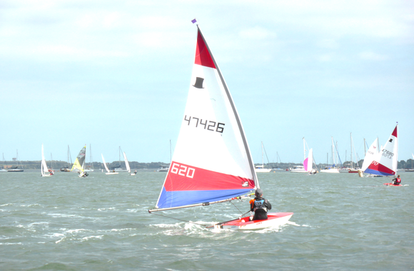 Junior Saturday Sailing - Topper