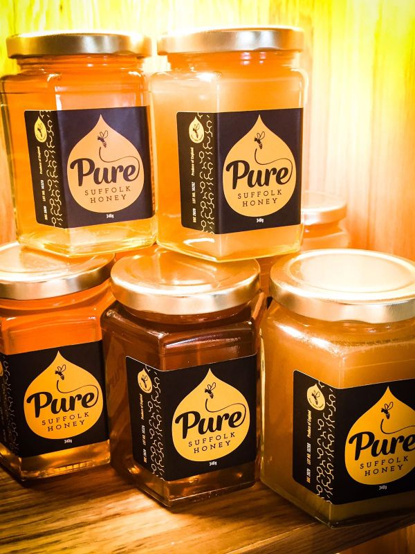 Pure, Local Suffolk Honey