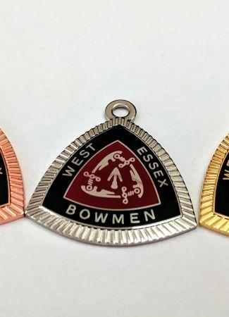 Enamel Pendants or Medals